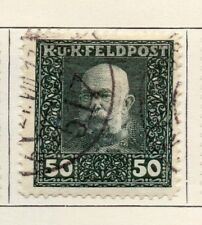 Austria 1915 Early Issue Fine Used 50h. 192999