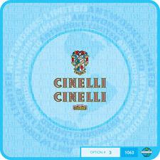 Cinelli Bicicletta Decalcomanie-Trasferimenti-Adesivi-Set 3