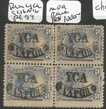 Peru YCA SC 16N12 Block of 4 Rare MOG (6che)