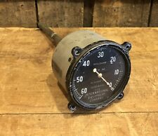 Vintage Waltham RPM International Equipment Gauge Auto Airplane Motorcycle
