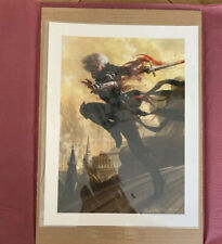 Sorin, Vengeful Bloodlord, Premium Print 1 Of 164, Signed By Tommy Arnold