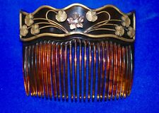 Beautiful Rare Art Nouveau Hair Comb