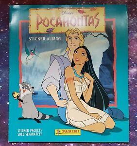 Disney's Pocahontas Sticker Album with Complete Sticker Set Panini
