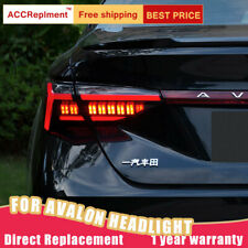 For Toyota Avalon LED Taillights Assembly Dark / Red LED Rear Lamps 2019-2020