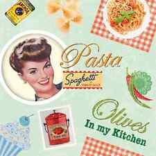 20 las servilletas de papel vintage Cocina Decoración Pasta Cocina Decoupage 33x33cm