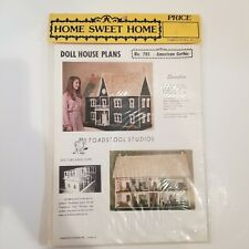 Doll House Plans Build Your Own American Gothic by Toadstool Studios Inc No. 785