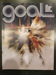 3/23/1974 Goal NHL Magazine New York Rangers Vs. Detroit Red Wings Program
