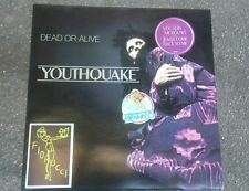 "DISCO VINILE 33 GIRI YOUTHQUAKE "" DEAD OR ALIVE "" EPIC 1985"