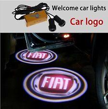 Luci proiettori Led portiera logo FIAT luce cortesia led 500 PUNTO BRAVO PANDA