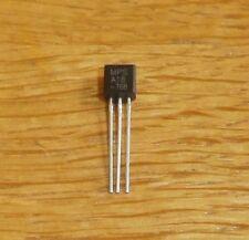 10 Transistoren  MPSA 18 ( npn , 45 V , 0,1 A , 0,625 W , Low Noise )