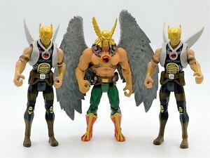 DC Universe Infinite Heroes Crisis Hawkman & Thanagarian Warriors Figures Mattel