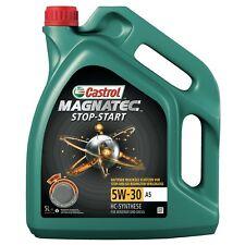 5 L LITER CASTROL MAGNATEC STOP-START 5W-30 A5 MOTOR-ÖL MOTOREN-ÖL 31891484