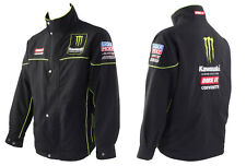 Nuevo Oficial Bike It Monster Energy Kawasaki DRT equipo Paddock Chaqueta Ligera