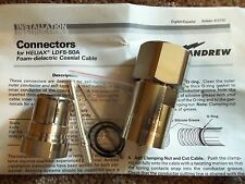 Andrew 7/8 Heliax Coax Cable Adapter Connector LDF5-50A LC-(M) Male L45M