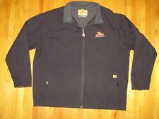 Dekalb Black Zip Front Micro Fleece Lined Waterproof Dri-Duck Jacket Sz XXL New