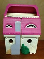 Vintage 1997 Loving Family Dollhouse 74618 Pink 3 Stories *USED