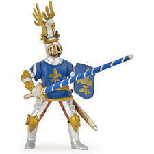 PAPO Knights Blue Fleur De Lys Lancer Knight NEW