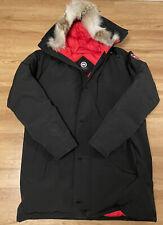 New listing Canada Goose Toronto Raptors Mens Parka Black Size XXXL Custom 92 Louis Nogueira