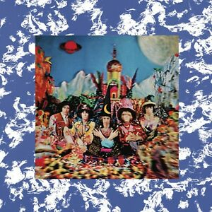 ROLLING STONES Your Satanic Majesties Request BANNER HUGE 4X4 Ft Fabric Poster