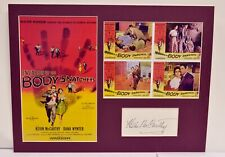 """""""Invasion of the Body Snatchers"""" Collage with Kevin McCarthy Autograph + COA"""