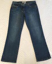 Bisou Bisou Women's Straight Leg Ankle Cut Jeans Size 8 (29 x 27.5)