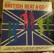 BRITISH BEAT a go-go LP Vinyl 1965 Record OUT OF PRINT USA