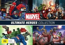 Marvel - Ultimate Heroes : Collection (DVD, 2018, 16-Disc Set)