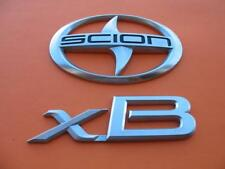 2004 2005 2006 SCION XB REAR LID EMBLEM LOGO BADGE SIGN OEM 04 05 06 SET #13