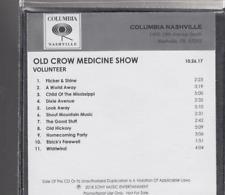 old crow medicine show volunteer cd promo