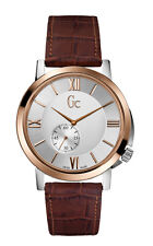 GUESS GC SlimClass Leather Mens Watch X59001G1S
