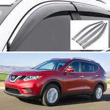 4Pcs Car Window Visor Vent Shade Deflector Sun/Rain for Nissan X-Trail 2014-2020