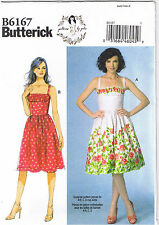 Vintage 50s Retro Sun Dress Gathered Inset Sewing Pattern by Gertie 4 6 8 10 12