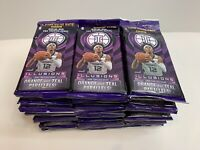 🔥 Massive 50 CELLO PACKS NBA Illusions Card Lot - Factory Sealed / Unopened 🏀