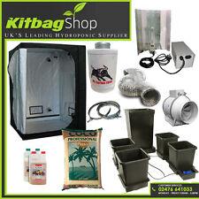 autopot Complete Hydroponic Grow Room Tent Fan Filter Light Kit 600w 120x120x200