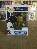 Funko Pop! Mickey Mouse Gold Diamond Collection Barnes & Noble Exclusive