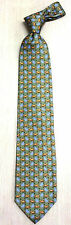 Korea Silk Tie sitting leopard picture High Quality