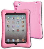 Shockproof Silicone Kid Case for iPad mini Generations 1, 2, 3, 7.9 inch, Pink