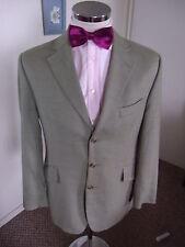 "Bespoke Hackett London Para Hombre De Cuadros hongo H/hueso con chaqueta deportiva C C40"" Reg"