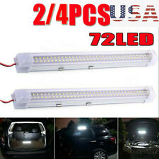 72 LED Interior Lights Strip Bar 12V 12 VOLT Car Van Bus Caravan ON/OFF Switch