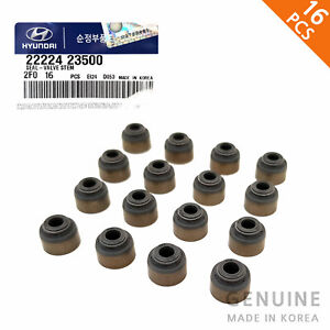 16X Genuine SEAL-VALVE STEM 2222423500 for HYUNDAI Accent Elantra Sonata KIA Rio