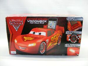 Disney Pixar Lighting McQueen Cars 2 Vroombox iPod Great Stereo Sound Amplifier
