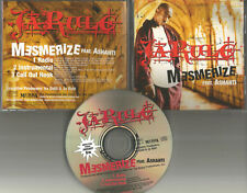 JA RULE w/ ASHANTI Mesmerize w/ RARE INSTRUMENTAL & RADIO TRK PROMO DJ CD single