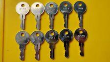 Posiflex Cash Drawer Key for Point of Sale Pos Register Till 8003 through 8023