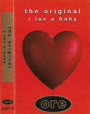 The Original ‎ I Luv U Baby CASSETTE SINGLE Electronic House