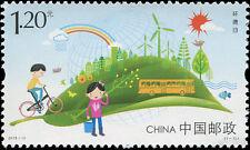 CHINA 2015-11 Stamp Environment Day Stamp环境日