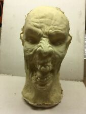 Zombie Face #6 Prosthetic Mask Prop Latex Halloween Haunt Hand Made Horror