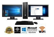 AMD Quad Core 8GB Radeon R7 SSD Windows 10 Gaming Desktop Computer PC Dual 19