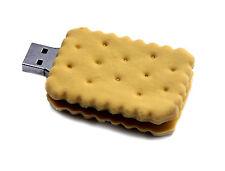 Biscuit Keks USB Stick mit 8 GB Speicher - Computer USB Stick / USB Flash Drive
