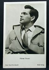 Adrian Hoven-Movie Actor Photo Film-AUTOGRAFO-Mappa AK (lot-g-7671