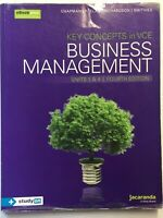 BUSINESS MANAGEMENT Key Concepts  in VCE UNITS 3 & 4 4th Edition 2017